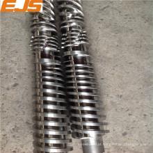 barrel rosca cônica nitretação para máquina de extrusão