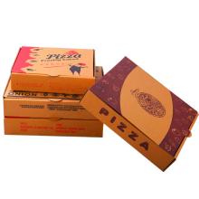 """Premium 13"""" Pizza Box White Corrugated Cardboard Paper Box Take Out Delivery Container"""