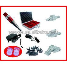 Kit completo de la máquina del tatuaje de la ceja de la fijación