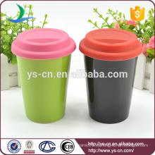 2015 Taza cerámica de doble capa sin mango