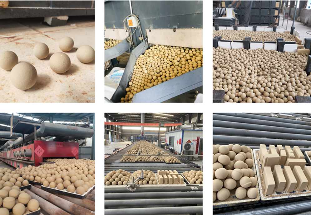 Medium Alumina Ball Grinding Ball Mill
