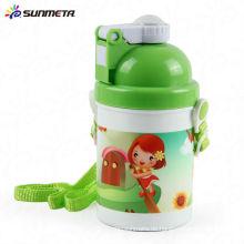 Sunmeta neue Ankunfts-Sublimations-Kind-Wasser-Flaschen 400ml SLH-01