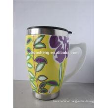 new products 2015 innovative product promotional travel mug, sublimation mug, ceramic mug