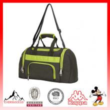 Saco de duffel novo do gym da forma do projeto, saco relativo à promoção feito sob encomenda dos esportes