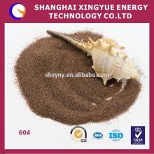 2,5 г/см3 гранатовый песок используется в строительстве автодорог, взлетно-посадочных полос, износ резины
