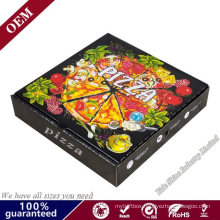 8 Inch Kraft Corrugated Cardboard Boxes Take out Food Containers Packing Boxes for Pizza Cake Cookies