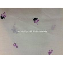 100% algodão impresso Voile para vestuário