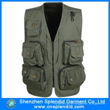 Vestuário de Shenzhen Wholeale Mens Caça Vest