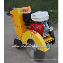 cortadora de sierra de hormigón móvil de gasolina, cortadora de pavimento, cortadora de carreteras