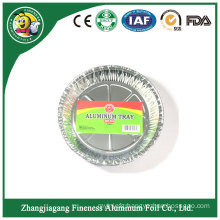 Fast Food Disposable Divided Aluminum Foil Container