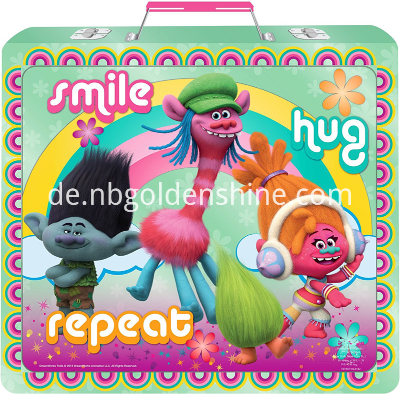 Troll Deluxe Activity Stationery Pencil Case