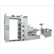 Четыре цвета Флексографская печатная машина и нанесение покрытий