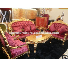 Sofá europeu clássico dourado A10020