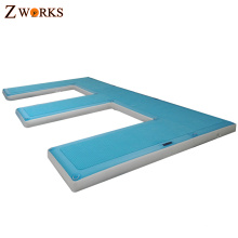 Customized PVC and drop stitch material inflatable dock floats