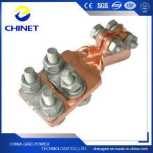 Type Sbj Plaque de pression Serre-câbles en cuivre