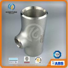 Raccords de tuyauterie en acier inoxydable Tee réducteur en acier inoxydable avec Ce (KT0325)