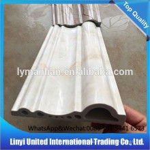 Rodapiés de mármol de PVC