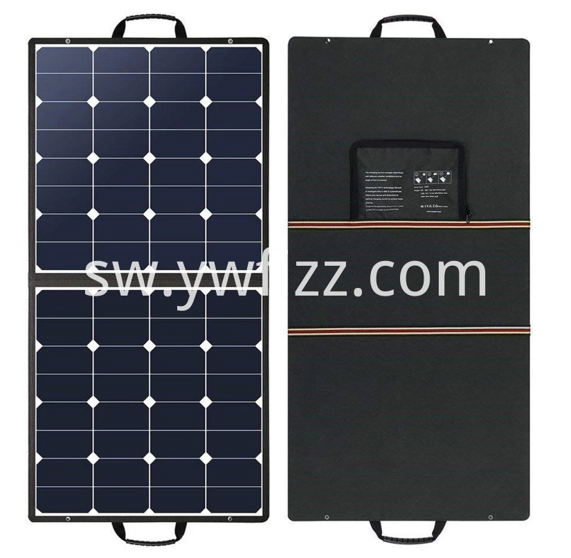 100W flexible solar power panel