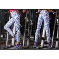 Damen Leggings Fitness Bunte Antibakterielle weiche elastische Bund Yogahosen
