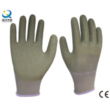 13G Polyester Liner Latex 3/4 gant de travail revêtu