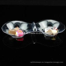 PP / PS Discos de plástico platillo desechable 8 en forma de plato