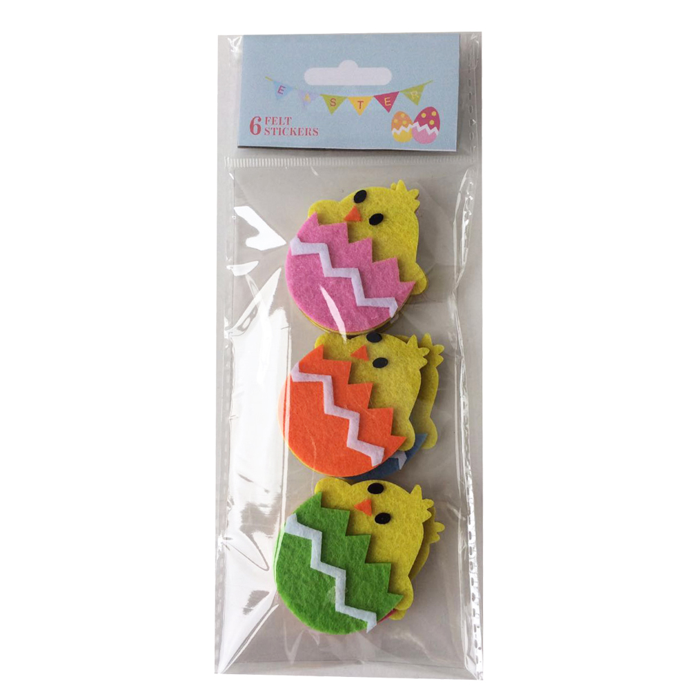 Easter Chick Shape Sticker