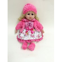 "12"" Hand Painting Cute Plastic Vinyl Dolls"