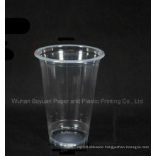 Disposable High Clear Plastic Cup of 95mm Upper Diameter