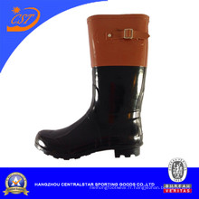 Women′s botte caoutchouc chaussures 66929