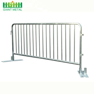 Galvanized Steel Trafik Temporary Crowd Control Barrier
