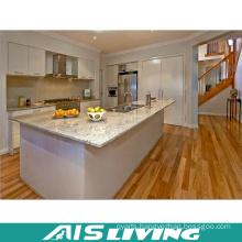 Artificial Quartz Opening Kitchen Cabinet Furniture Design (AIS-K364)