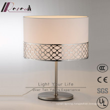 Hotel Project Decorative Satin Nickel Table Lamp
