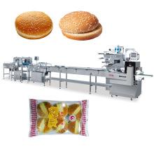 Machine à emballer automatique de pain à hamburger