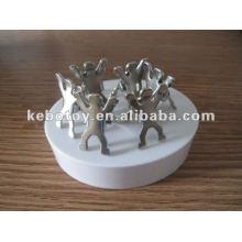 2012 o presente o mais novo presente magnético do escritório da escultura do grampo da pessoa do presente