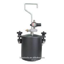 Tanque de la pintura del tanque de la presión de la pintura del aire 2.5L mini tanque de la pintura