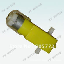 low speed 6v dc plastic gear motor for robot