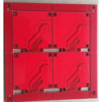 Soudure rouge 2 couches ENIG PCB