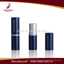 LI18-81 tubos de lápiz de labios personalizados de metal y nuevo tubo de lápiz de labios de moda vacía