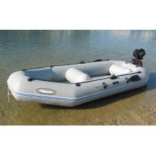 Barco esportivo inflável pequeno em PVC a remo