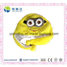Cute Cartoon Plush Warm Minion Cap for Sale