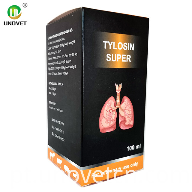 100ml Tylosin Tartrate Injection