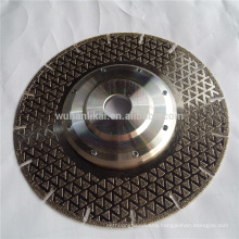 high quality customized electroplated marble cutting discs