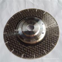 discos de corte de mármore galvanizados personalizados de alta qualidade