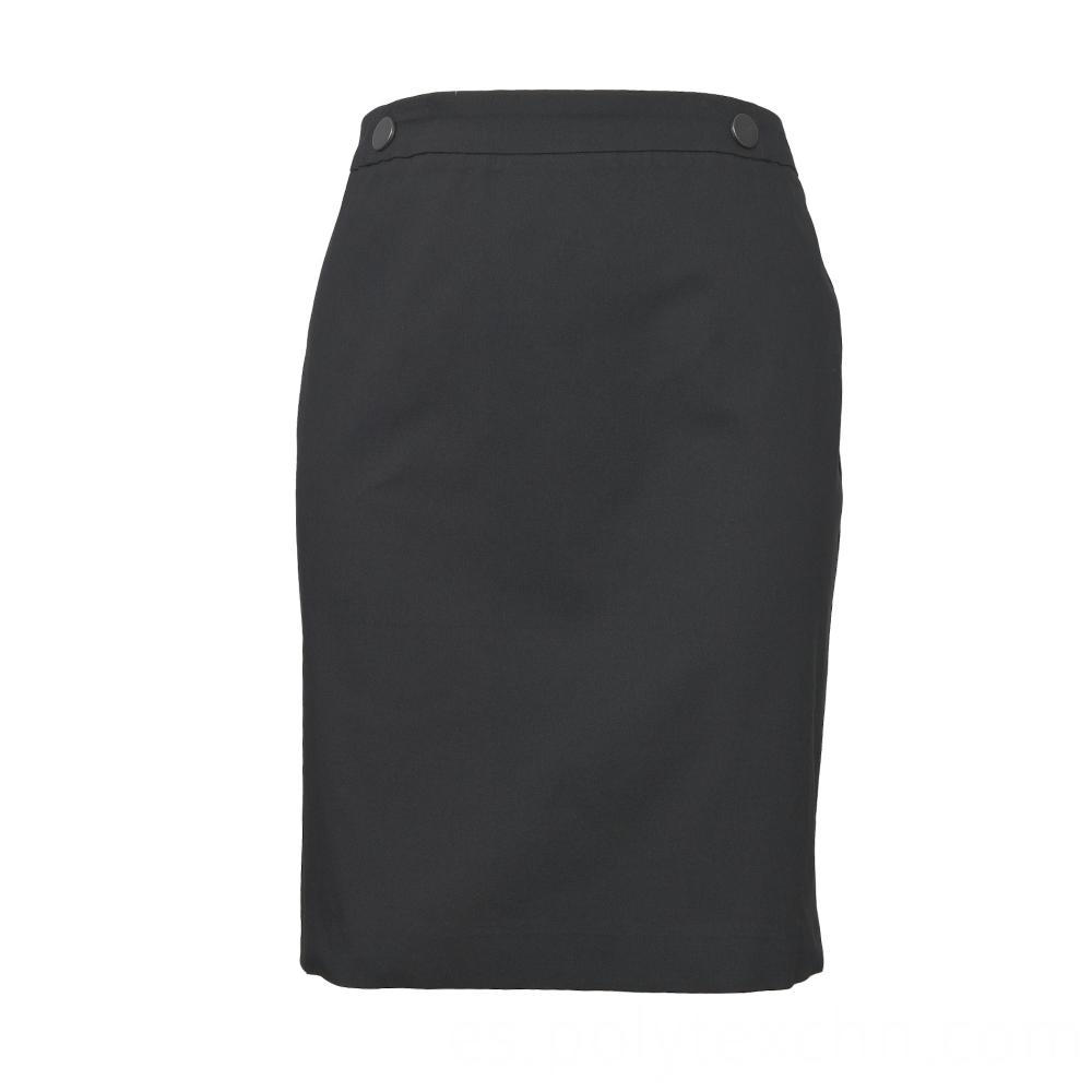Knee-length Female Skirt