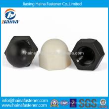 Plástico o material de nylon tuercas para decoración
