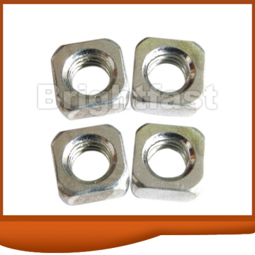 Square Nut zinc plated