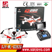 Newest Flying WL-toys RC helicopter UFO With Camera Made In China with FPV 5.8G Real Time Transport rc drone WL-Q282G