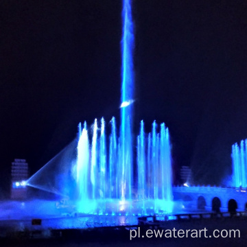 Music Control Salute Fountain