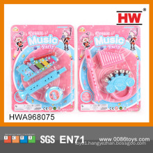 2015 hot selling mini kids toys plastic musical instruments