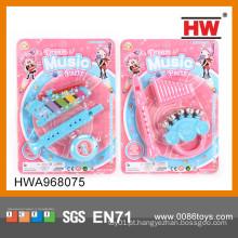 2015 venda quente mini brinquedos brinquedos de plástico instrumentos musicais